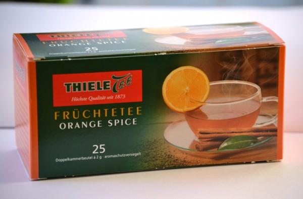 Thiele Tee Orange Spice, 25 x 2 g Beutel