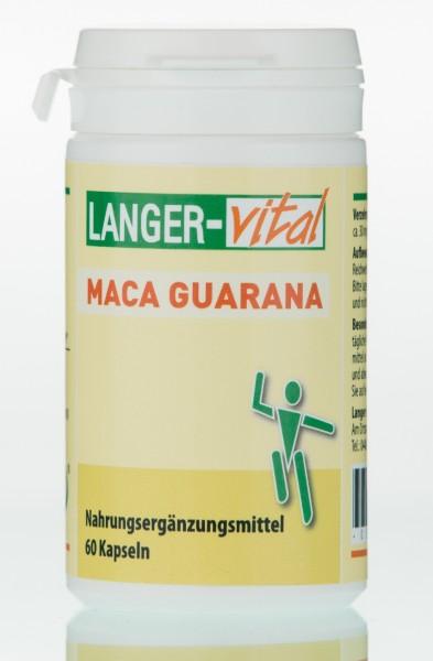 Maca Guarana, 60 Kapseln