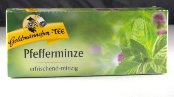 Goldmännchen-Tee Pfefferminze (MHD 11/18)