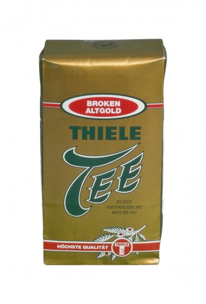 Thiele Tee, Broken Altgold, 125 g, Echte Ostfriesische Mischung