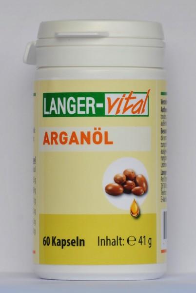 Arganöl 500 mg, 60 Kapseln